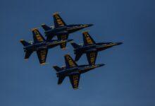 Une escadrille de l'US Air Force.